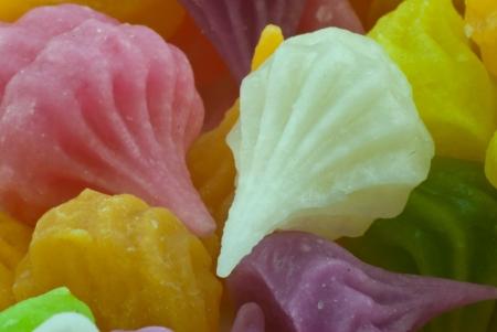 Colorful Thai dessert - close up photo