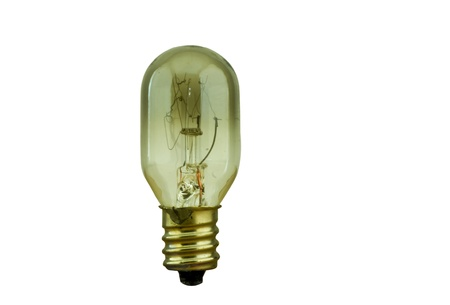 Broken light bulb on white background Stock Photo - 16953469