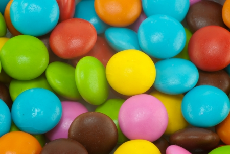 Colorful candy background photo