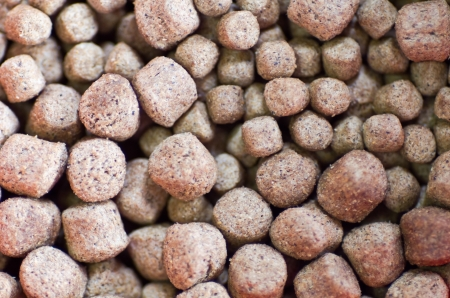 Close up of fish feed Stock Photo - 17811721