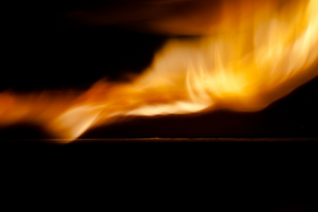 Flame Light Abstraction Stock Photo - 17811434