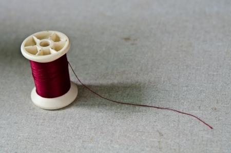 bobbin: Thread red bobbin