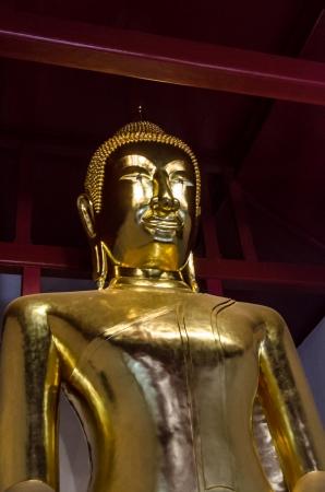 Golden buddha image at Lopburi, Thailand Stock Photo - 18686000
