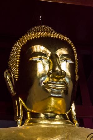Golden buddha image at Lopburi, Thailand Stock Photo - 18689312