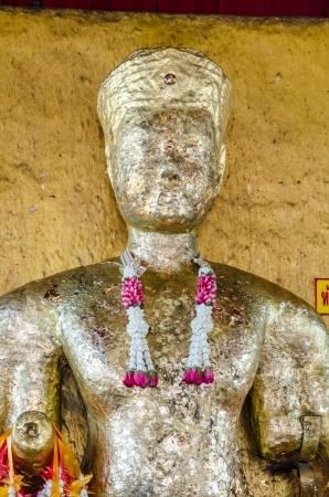 Golden buddha image at Lopburi, Thailand Stock Photo - 18689945