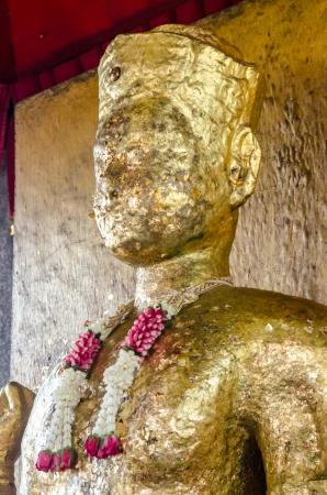 Golden buddha image at Lopburi, Thailand Stock Photo - 18686048