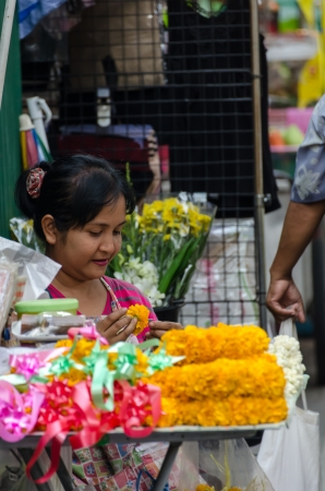 Street vendors in Bangkok, Thailand Stock Photo - 22746066