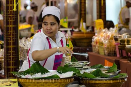 Food street vendors in Bangkok, Thailand
