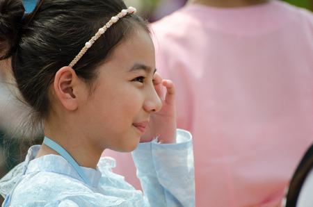 A pretty Thai girl Editorial