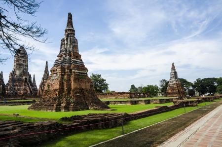 ayuthaya: Wat Chaiwatthanaram Temple in Ayuthaya, Thailand