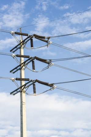 electricity cables and wires Stock Photo - 17120134