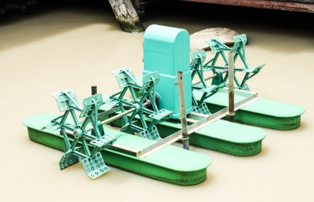 aerator: Paddle Green Wheel Aerator