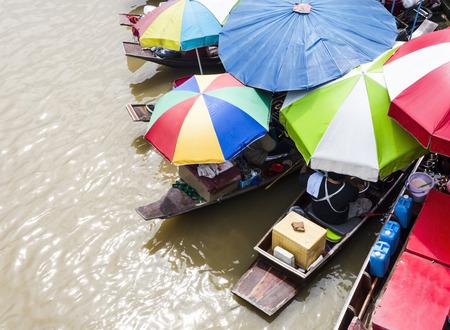 amphawa: Amphawa Floating Market, Samut Songkhram, Thailand