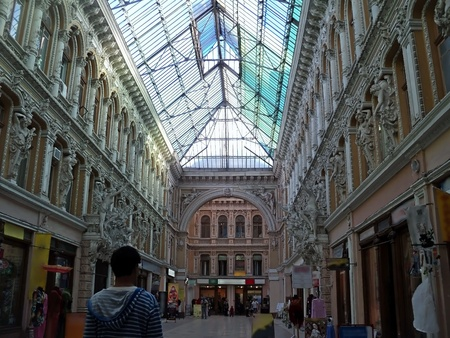 General view of the interior of the central department store, located in Odessa Stock Photo - 13315888