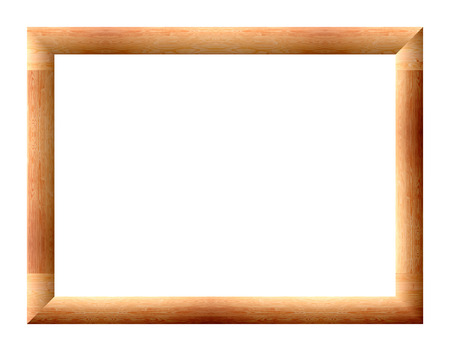 convex: Convex rectangular frame for pictures Stock Photo