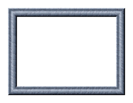 determined: Rectangular frame for pictures and paintings with an abstract texture of water droplets on a gray background