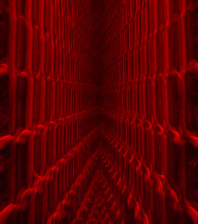 Abstract black and Red fractal background red tone Stock Photo