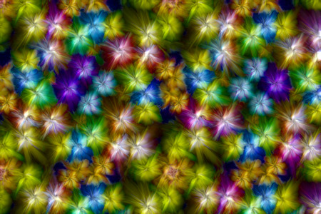 diffuse: Colorful background with abstract texture in the form of diffuse luminous shapes that look like flowers
