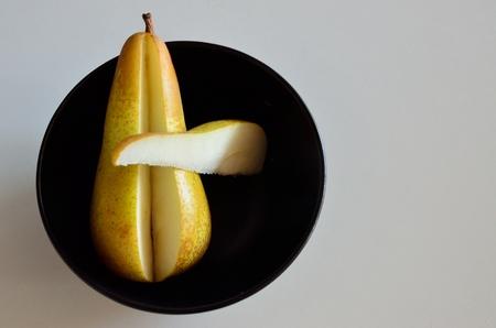 Cutted pear