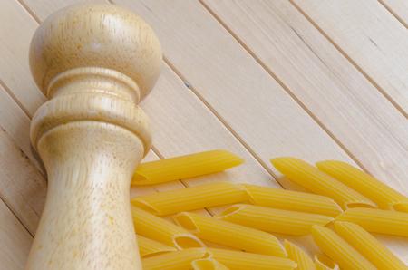 caster: Pasta with salt caster