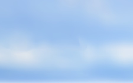 cloudy sky: Cloudy sky vector background, Clouds on sky. Blurred background Illustration