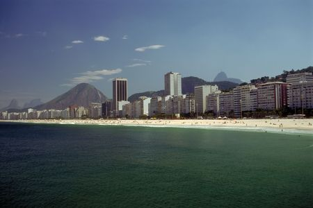 most: A hot afternoon on the most famous beach of the world in Rio de Janeiro, Brazil
