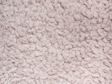 Soft wool texture background, light natural sheep wool, close-up texture