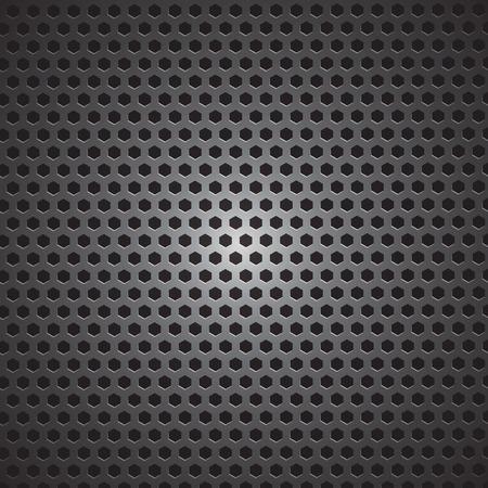 reticular: metal background vector illustration
