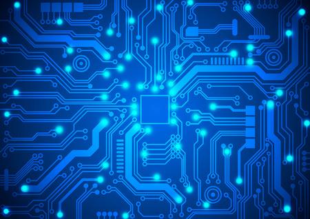 circuit board background Vector
