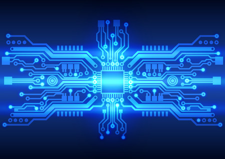Abstract technology circuit board background texture