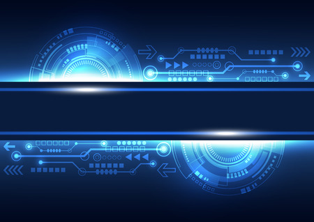 vector future network telecom technology, abstract background