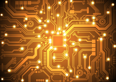 circuit board vector background vector illustration Фото со стока - 34533149