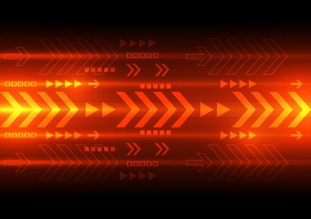wektora prędkości technologia cyfrowa, abstrakcyjne tło