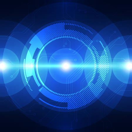 speed of sound: vector digital sound wave technology, abstract background