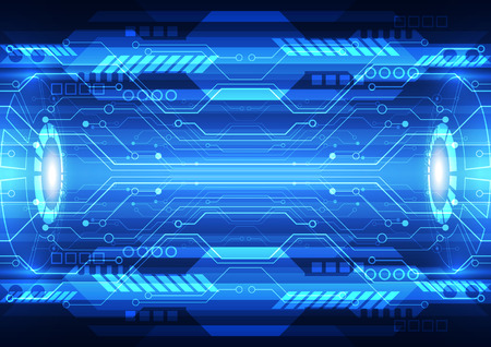 abstract future speed technology system background, vector illustration Stock fotó - 37705997