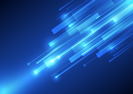 light speed: vector digital speed technology, abstract background