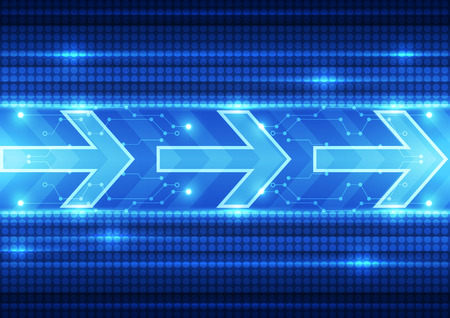 hi speed: abstract future speed technology system background, vector illustration