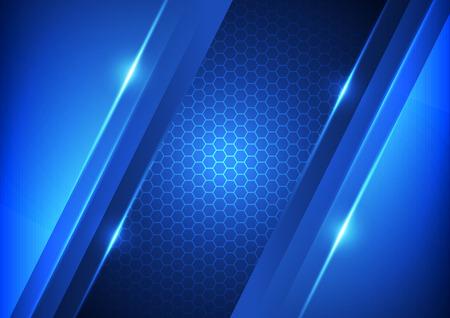 la technologie numérique de la vitesse de vecteur, abstrait Vecteurs