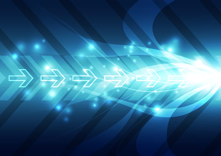 hi speed: abstract future speed technology system background vector illustration