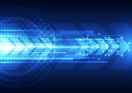 velocidad: vector de la tecnología digital de la velocidad de fondo abstracto