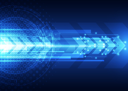 internet speed: vector digital speed technology abstract background