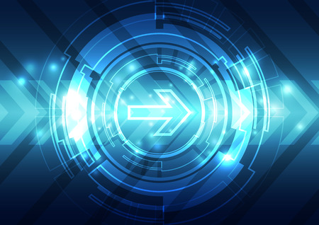 speed of sound: abstract future speed technology system background, vector illustration