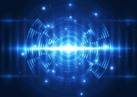 speed of sound: vector digital wave technology future, abstract background