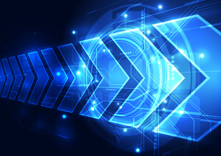 vector digital speed technology abstract background