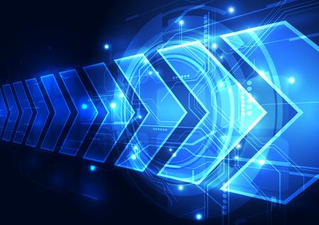 벡터 디지털 속도 기술 추상적 인 배경