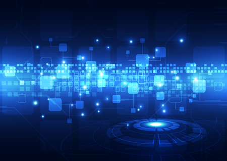 digitale technologie concept achtergrond