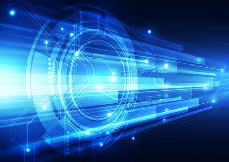 digital speed technology abstract background
