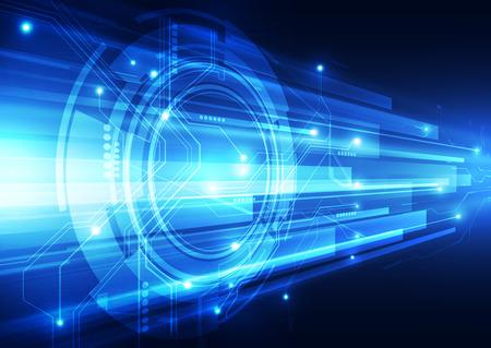 La tecnologia digitale della velocità astratto