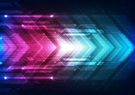 abstract vector future speed technology background illustration