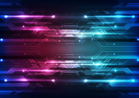 astratto vettore tecnologia futura velocità sfondo illustrazione